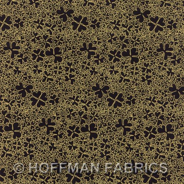 Irish Charm K4096-4G Black Gold