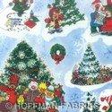Suzy's Christmas L4183-16 Sky