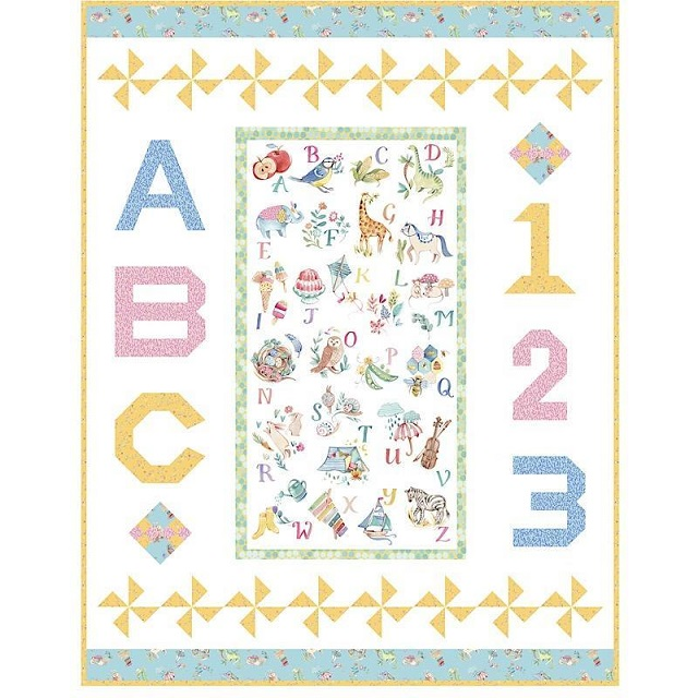 My Imagination 51350QK Learn Play Grow Quilt Kit