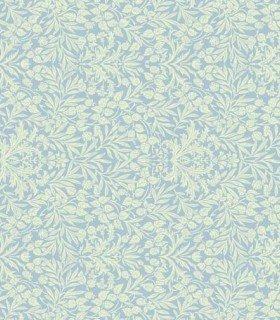 Memoire a` Paris 820817-70 Light green leaves on blue