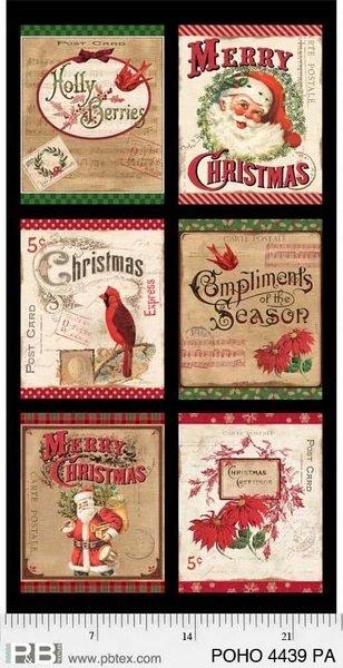 Postcard Holiday 4439 Panel