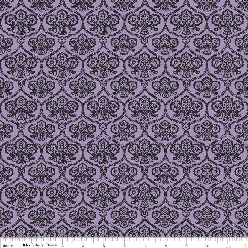 Happy Haunting C4671 Purple