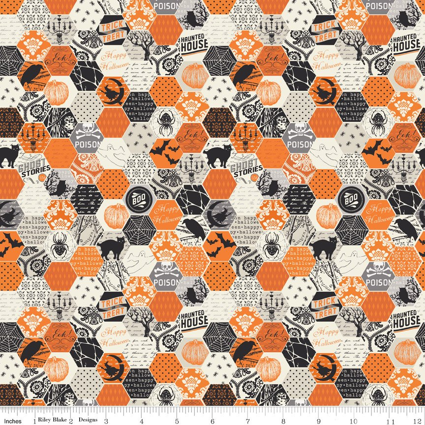 Happy Haunting C4673 Orange