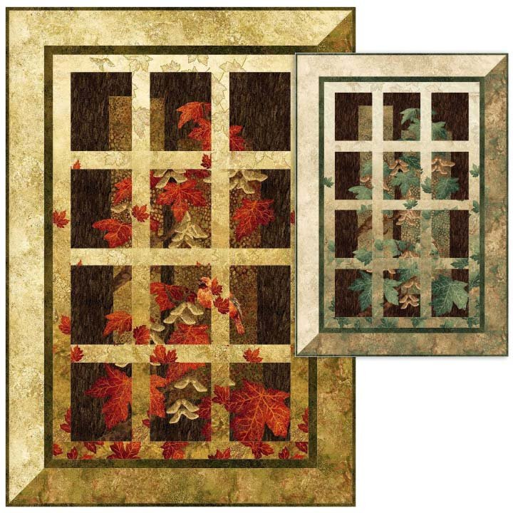 Window View 2 Quilt Pattern