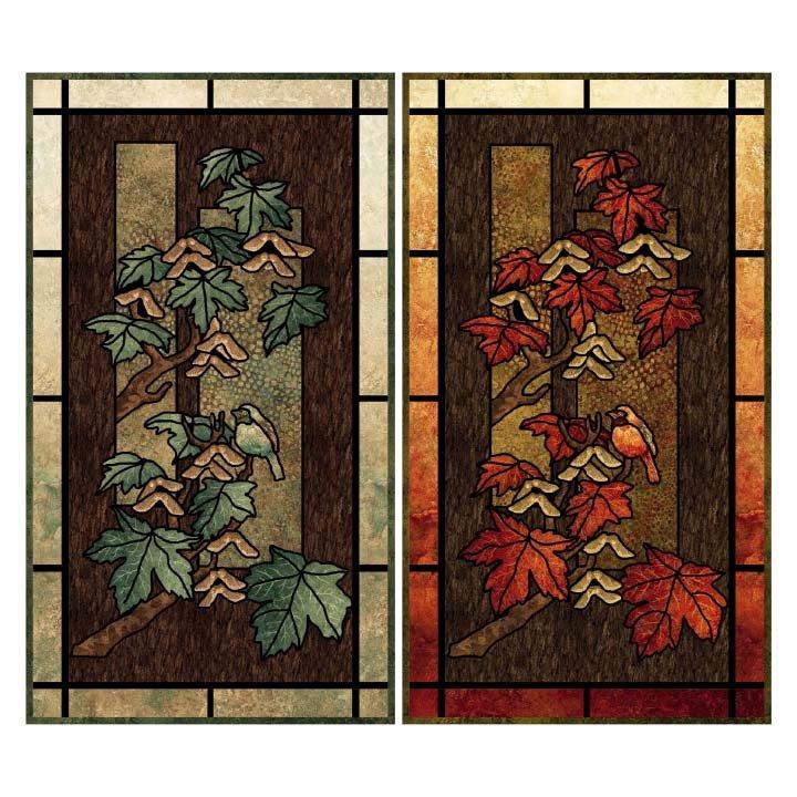Maplewood Glass Quilt Pattern