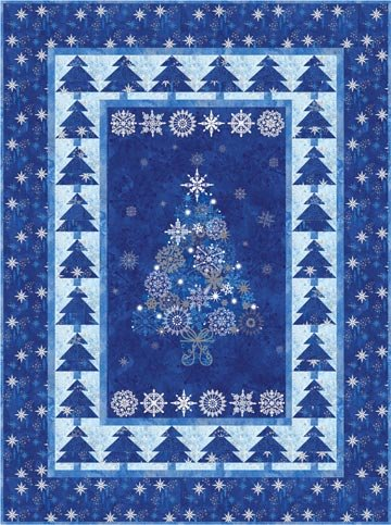 Christmas Night Quilt Kit
