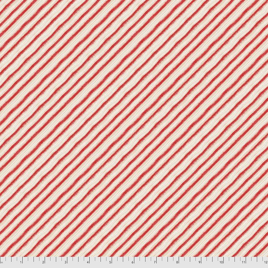 Holly Jolly Peppermint Diagonal Stripe PWCD009.XRED