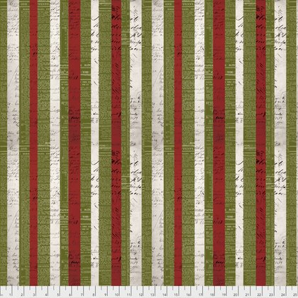 Merriment PWTH086 Xmas Stripe Multi