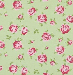 Rosey PWTW062 Little Roses Green