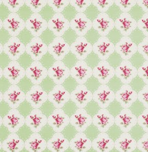 Rosey PWTW066 Cameo Rose Green