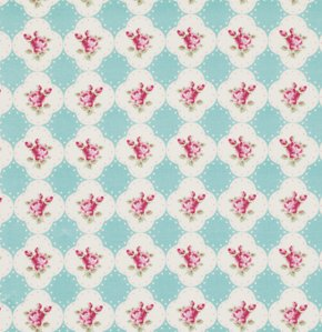Rosey PWTW066 Cameo Rose Teal