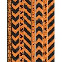 Something Wicked 84381-891 Ticking Stripe Orange