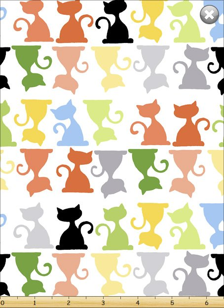 Purrl The Cat SB20248-100 Silhouette