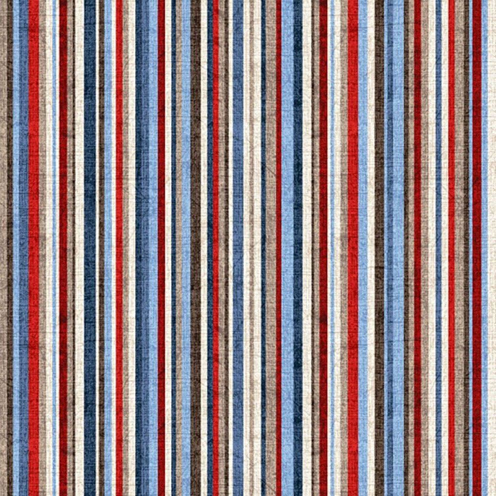 All-American Road Trip by Studio E Fabrics 4317-87 (Stripe)