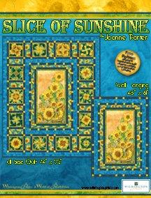 Slice of Sunshine Quilt Kit 74 x 92