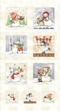 Snowmen Meadow 840 Panel