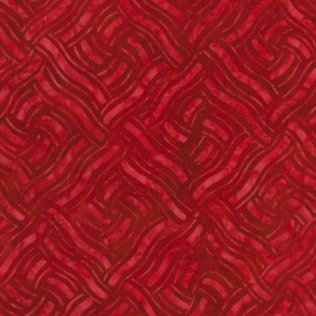 Patriot Tonga Batiks B6940 Red