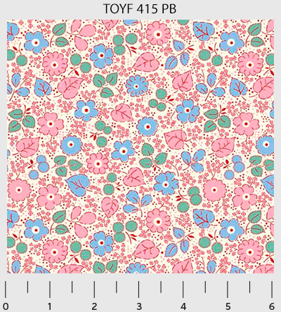 Toy Chest Florals 415-PB