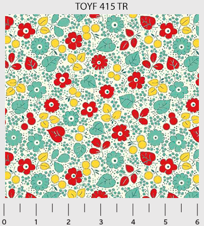 Toy Chest Florals 415-TR
