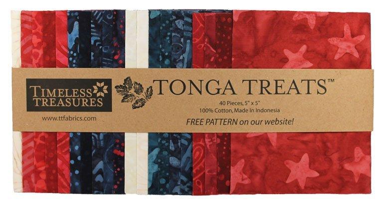 Tonga Treat Mini Patriot (40) 5 Squares