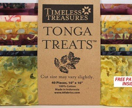 Tonga Treat Gypsy 10 Squares