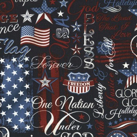 USA C5280 Navy Patriotic Words