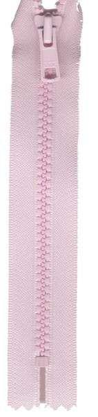 Vislon 1-Way Separating Zipper 22in Baby Pink # VSP22-512