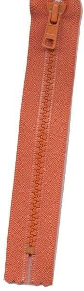 Vislon 1-Way Separating Zipper 22in Burnt Orange # VSP22-523