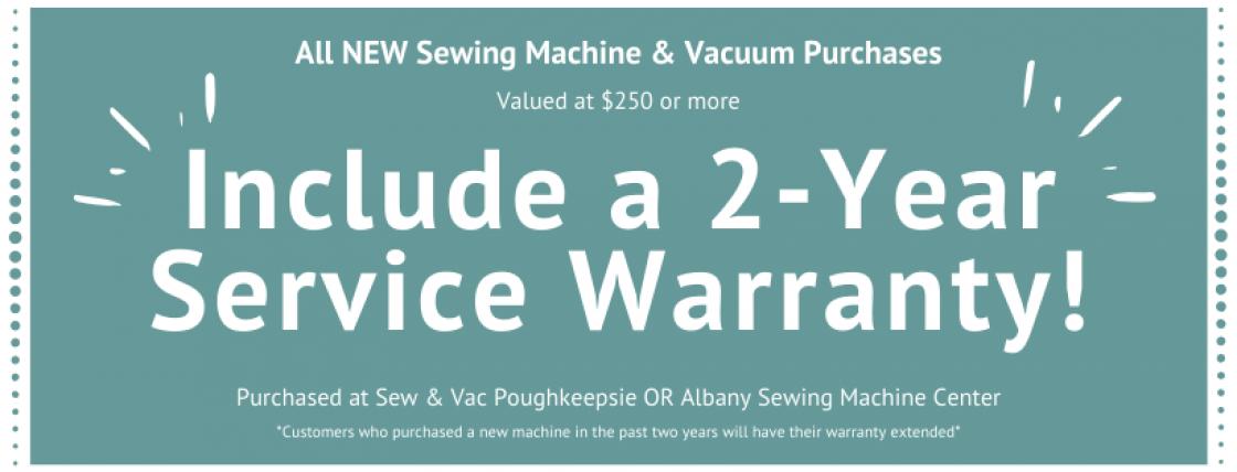 2-Year Service Warranty