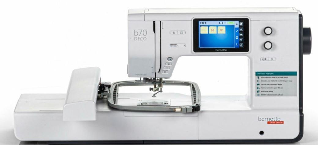 bernette b70 DECO Embroidery