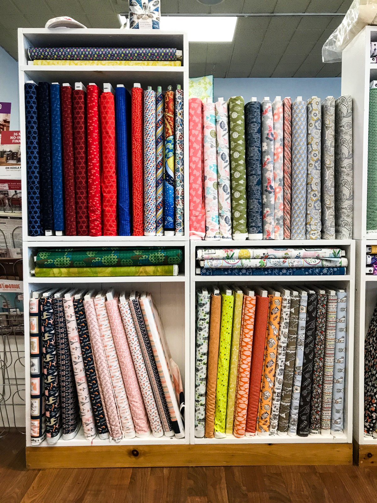 Fabric at Albany Sewing Machine Center