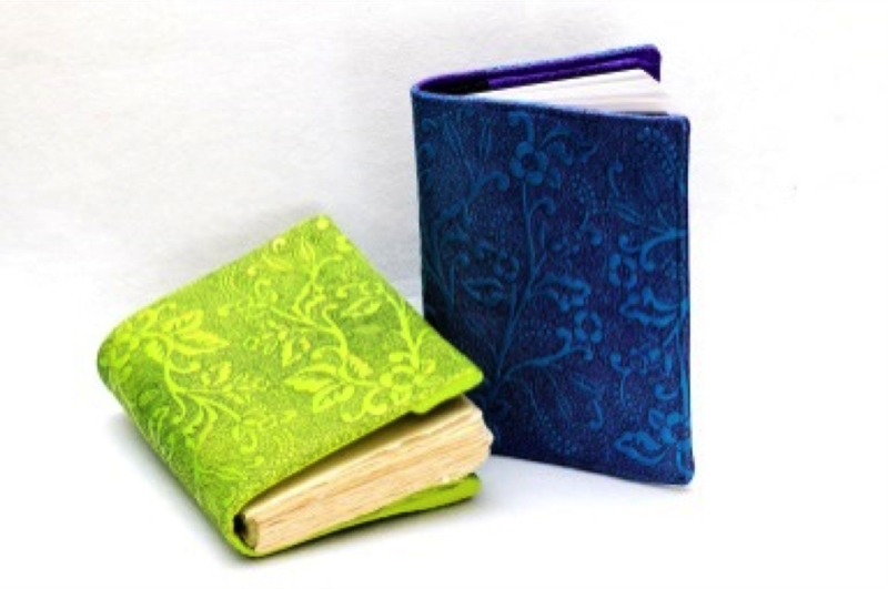 ALBANY Embroidery Embossed Journal Cover