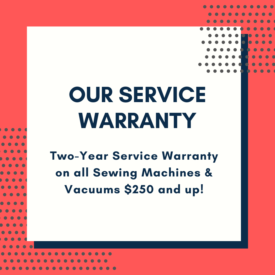 Our Vacuum Warranty