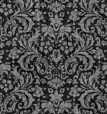 Let it Bee Damask Gray