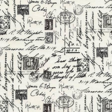 Letters From Paris - Cream