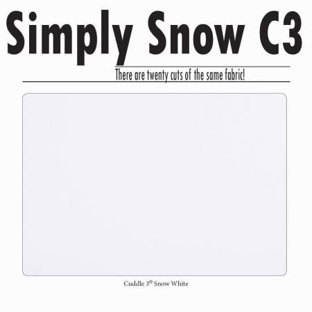 Cuddle Charms Simply Snow Charm Pack