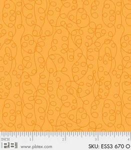 Bear Essentials 3 Scribbles Orange