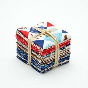 Cowboy Fat Quarter Bundle 21 pcs