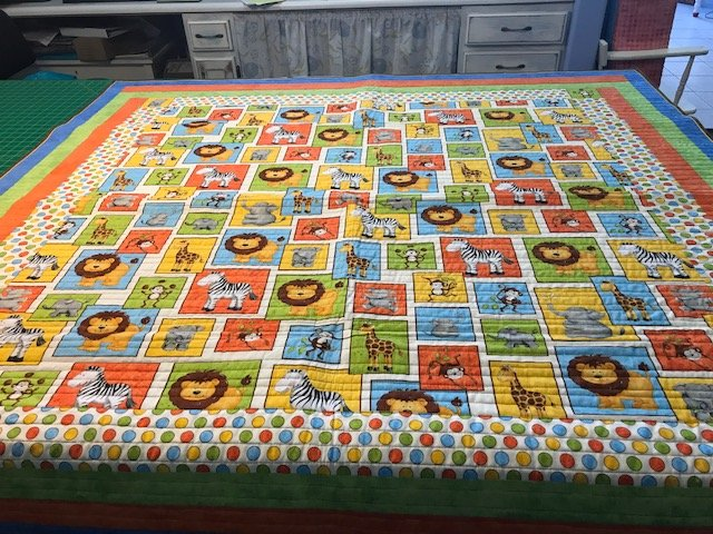 QUILT -  Monkey Business 58 x 58