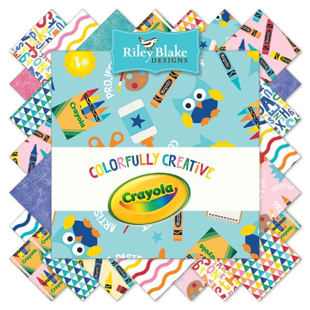 Crayola Colorfully Creative 10 in stackers 42 pcs