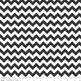 Chevrons Small - Black and White
