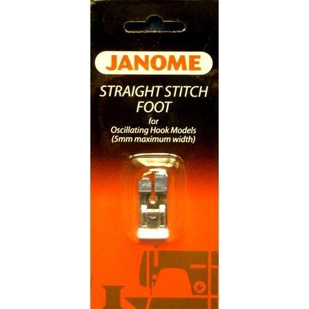 Janome Straight Stitch Foot 5mm Oscillating