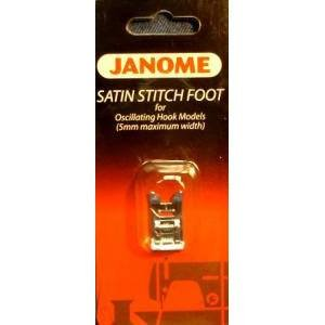 Janome Satin Stitch Foot 5mm Oscillating