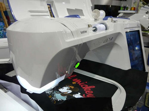 Brother NV6000d upgrade to Quattro 3 Sewing/Embroidery Pre-owned machine