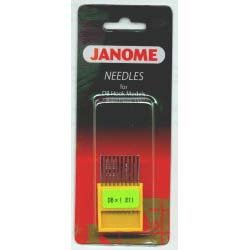 Janome Needles for DB Hook Models (DBx1 Size 11)