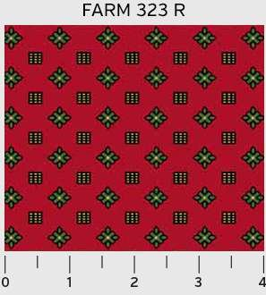 Farmhouse Geometric Dots 323R