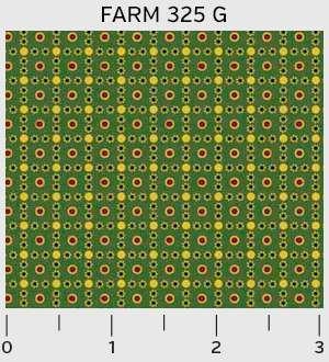 Farmhouse Checkered Dots 325G