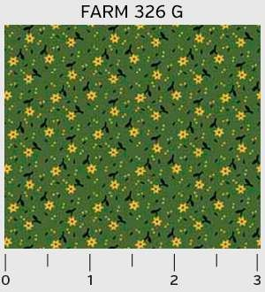 Farmhouse Scattered Floral 326G