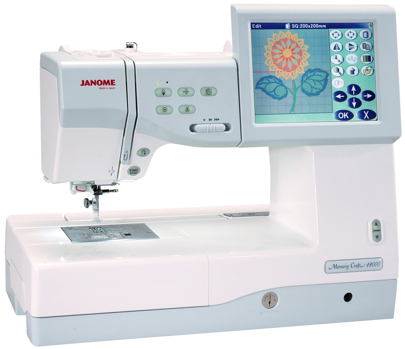 Janome Memory Craft 11000 Pre-owned