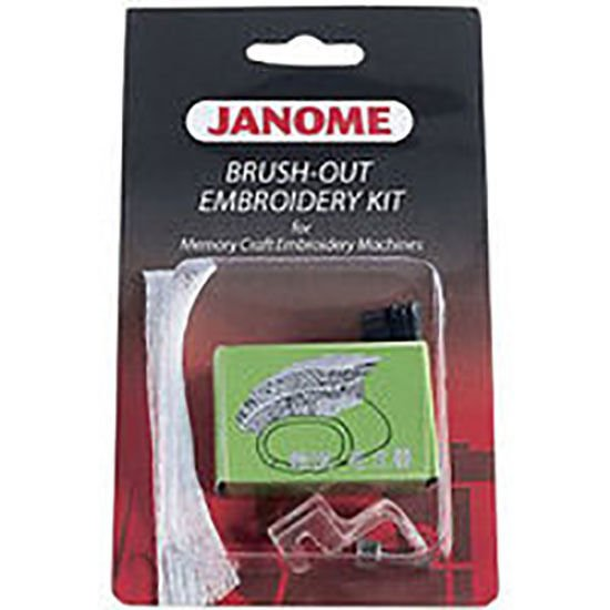 Janome Brush-Out Embroidery Kit for MC Embroidery Machines